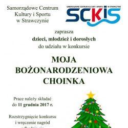 Konkurs Moja Bożonarodzeniowa Choinka
