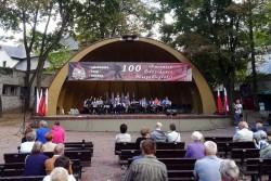 Koncert Orkiestry Dętej w Parku Miejskim w Kielcach