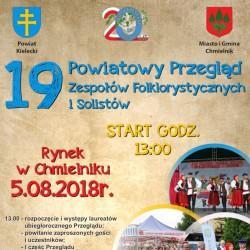 XIX Powiatowy Przegląd Zespołów Folklorystycznych i Solistów