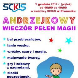 Andrzejki w świetlicy w Promniku