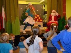 Mikołaj w krainie Smerfów