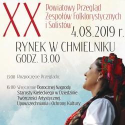 Jubileuszowe święto folkloru w Chmielniku