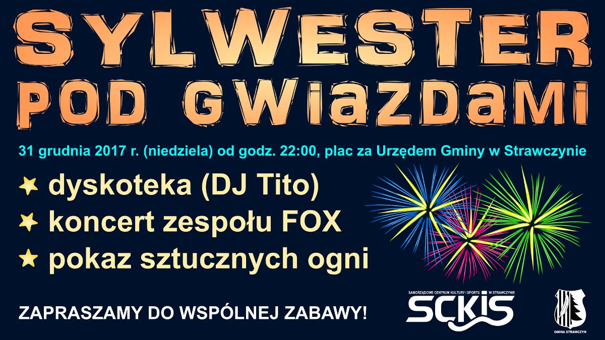 Gmina Strawczyn - Sylwester pod gwiazdami