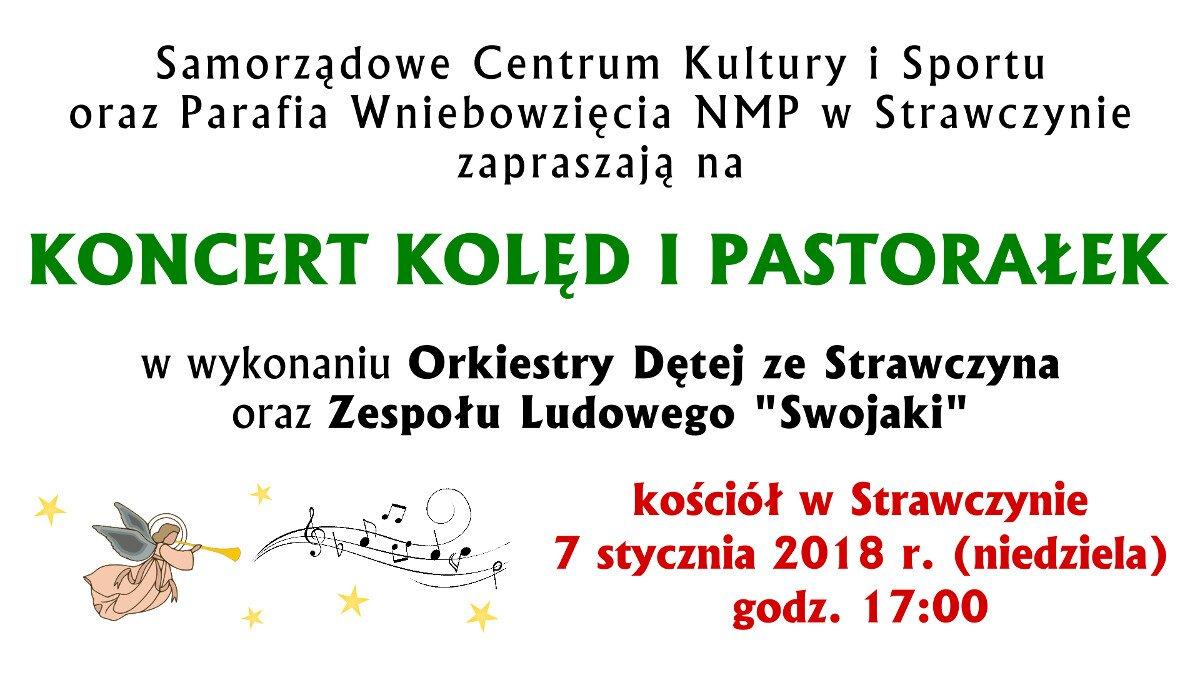 Baner - koncert kolęd i pastorałek